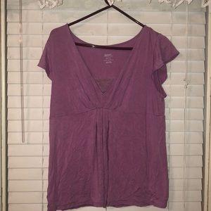 Tops - Purple shirt